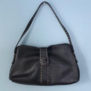 Desmo Italian Black Leather Shoulder Bag e4ada1f4911e2